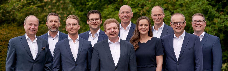 Grupppenfoto Brother Management Board