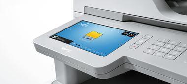 Brother Farblaserdrucker mit großem, individualisiertem Touch-Display