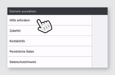 Upgrades - Screenshot - Hilfe anfordern