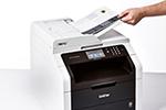 MFC-9142CDN mit automatischem Dokumenteneinzug
