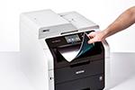 MFC-9332CDW ermöglicht beidseitiges Drucken