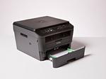 Brother DCP-L2520DW mit offener Papierkassette