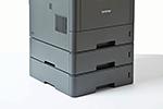 DCP-L5500DN bietet professionelles Papiermanagement