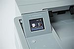 HL-L6400DW mit Touchscreen-Farbdisplay
