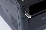 MFC-8520DN mit USB-Host