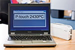 PT-2430PC mit Editor-Software-Paket
