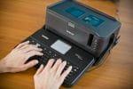 Brother PT-D800W Tastatur