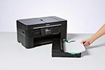 Unterschiedliche Papierformate einlegen in die Kassette des Brother MFC-J5320DW