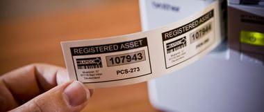 Impresión de etiqueta adhesiva