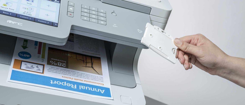 Impresora con funciones de seguridad Brother