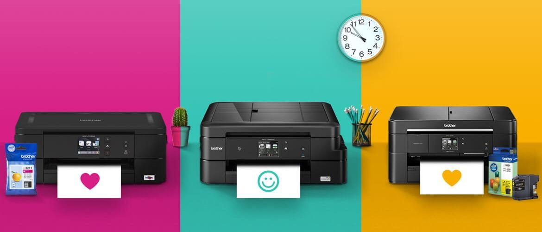 Impresoras Brother tinta con cartuchos de colores