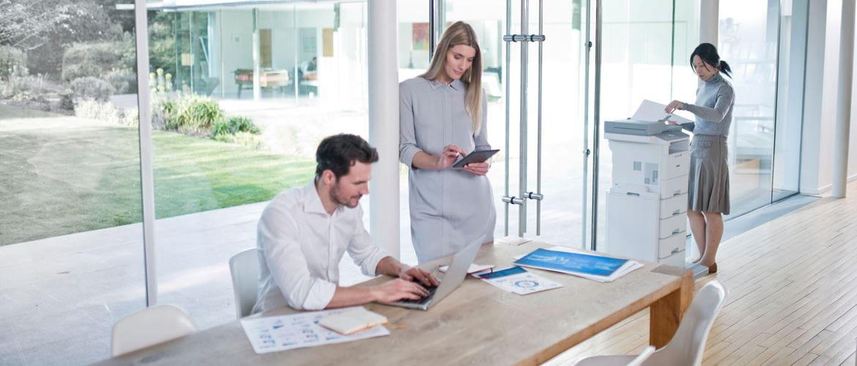 Servicios profesionales para que tu empresa sea más eficiente Brother