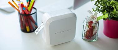 Rotuladora electrónica PT-P Cube Brother