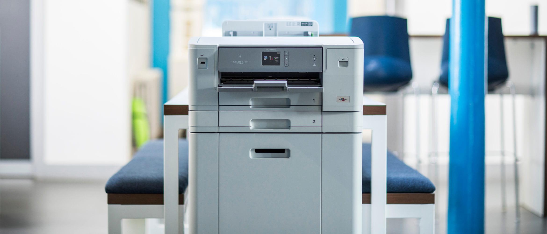 Impresora Brother con doble bandeja