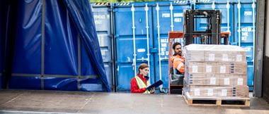 Etiquetas para el sector logística