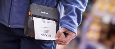 Impresora portátil RJ para impresión de facturas
