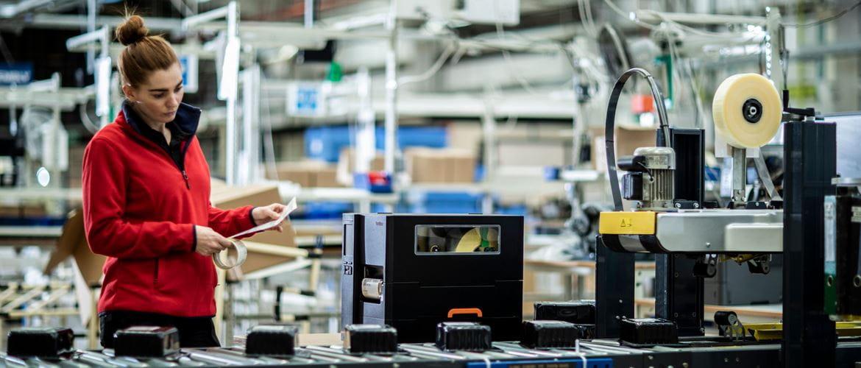 Impresoras de etiquetas industriales TJ Brother