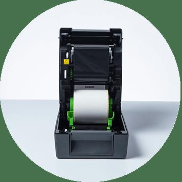 Rollo impresora de etiquetas TD transferencia termal Brother