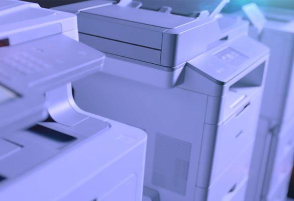 Detalle de impresoras profesionales Brother