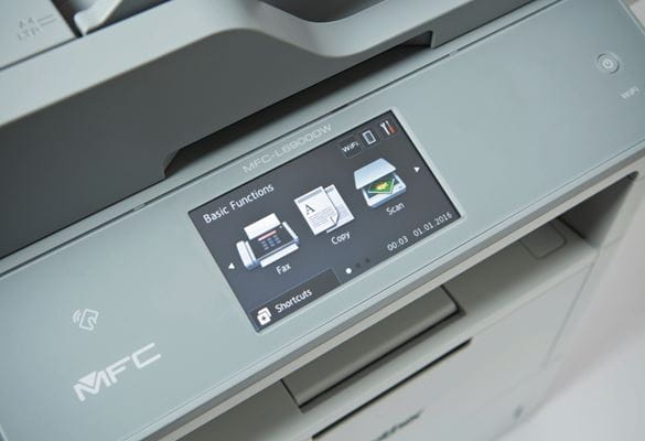 Pantalla impresora SecurePrint+ MFC-L6900DWTSP