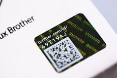 Holograma de la etiqueta de seguridad consumibles láser