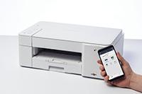 Impresora multifunción tinta DCP-J1200DW con conexión móvil