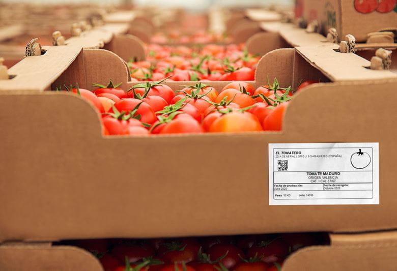 Etiquetas Brother para el sector hortofrutícola
