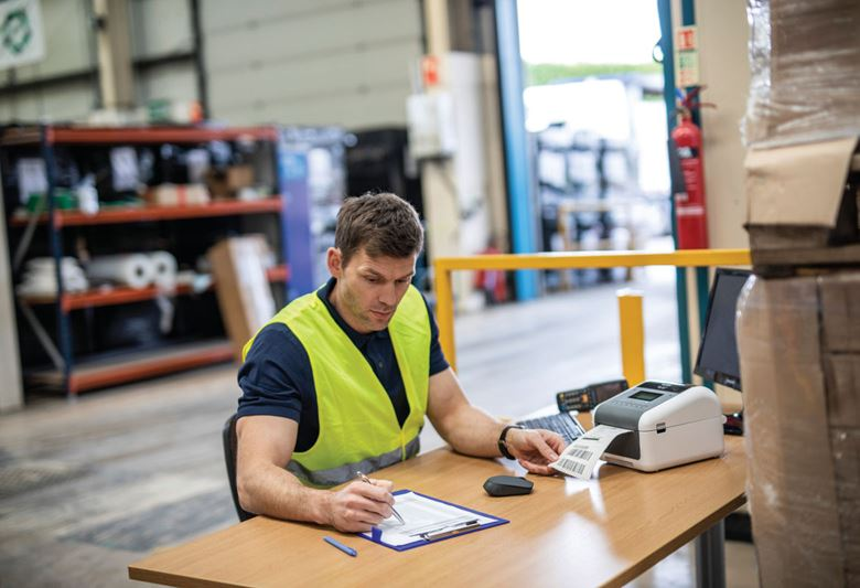 Impresoras de etiquetas TD Brother para el sector Transporte y logística