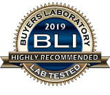 Highly recommended 2019. BLI Buyers Laboratory