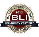 Reliability Certified BLI 2012