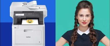 Tulostin ja tulostinkuiskaaja