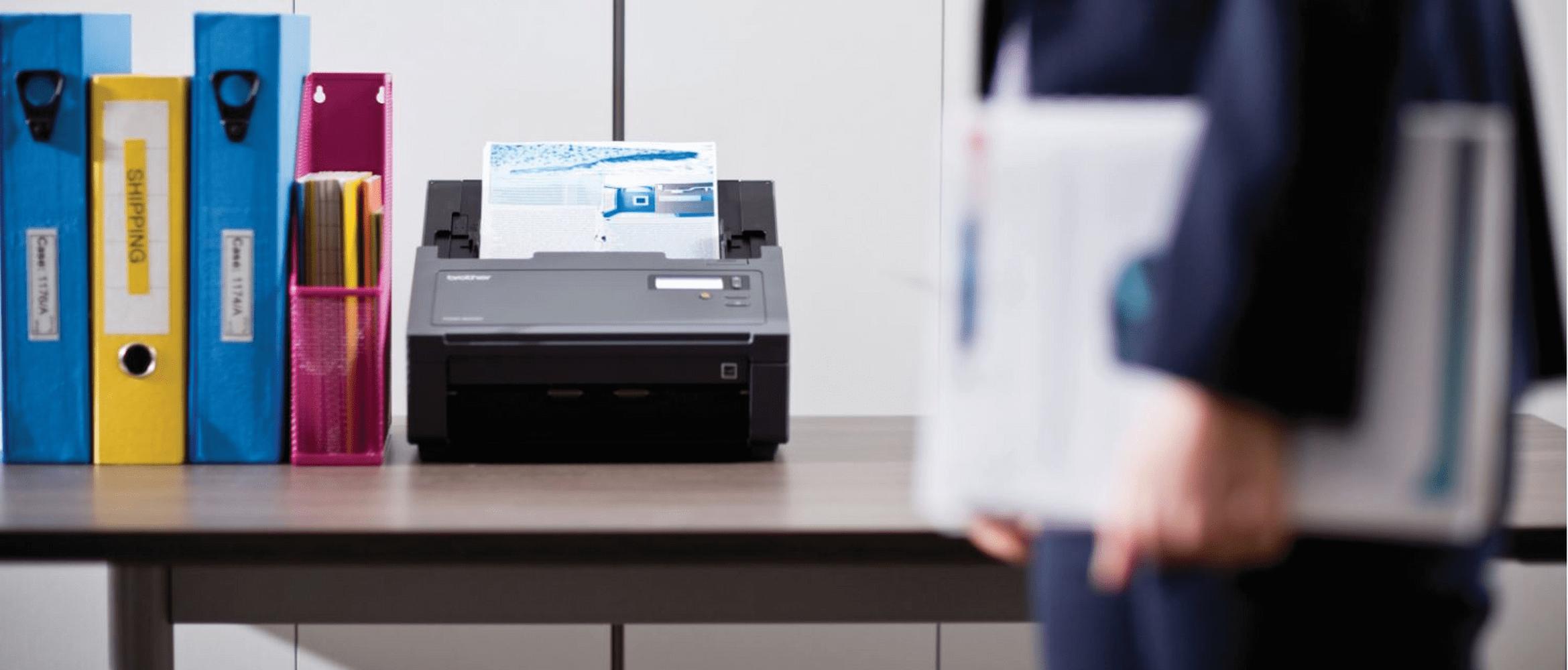 Brother PDS-6000 stolní skener dokumentů s kancelářskými složkami