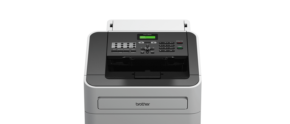 Brother fax machine front shot zoom