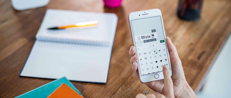 P-touch Design&Print aplikácia pre tvorbu štítkov na smartfone