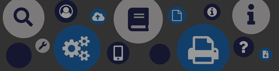 Brother Manuals and Guides Font Awesome Icons