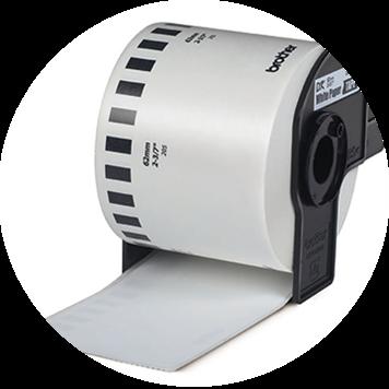 Brother DK roll supply for QL desktop printers