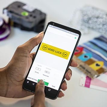 používanie aplikácie na smartfóne