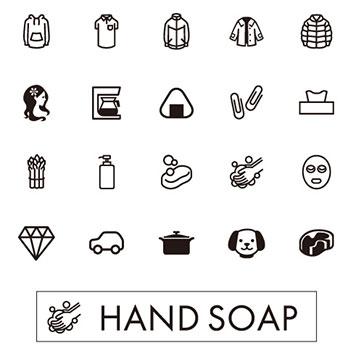 Emoji készlet a Design és print applikációban
