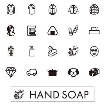 Примери на икони, налични в приложението Design&Print