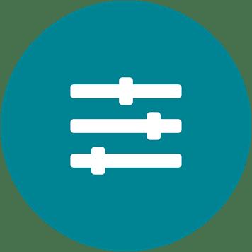 Customisable icon