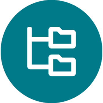 File organisation icon