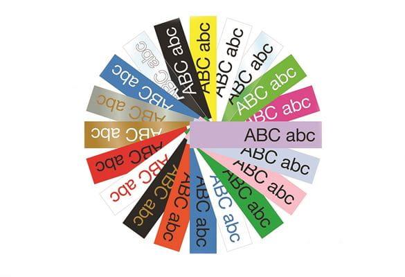 Roată culori etichete