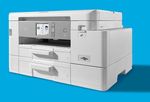 MFC-J4540DW spausdintuvas iš arti su šešėliu dešinėje