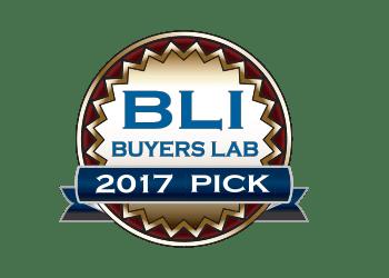 BLI Buyers lab 2017 Pick award logo