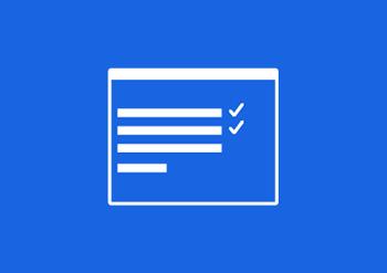 Ikona formuláře vrácení inkoustové kazety