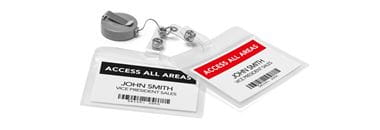 Labels on work IDs