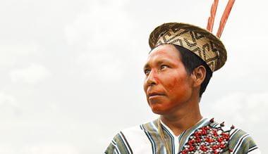 Partnerství pro životní prostředí Cool Earth s Ashaninka Peru