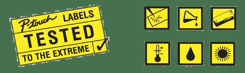 Ikona Odolnosť TZe štítkov