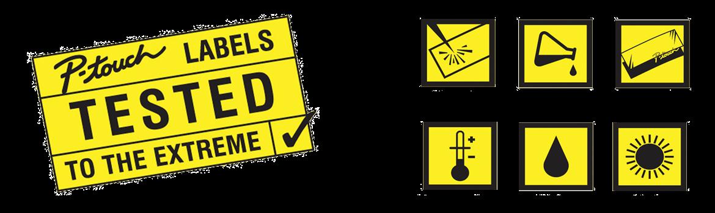 Žluté štítky testů