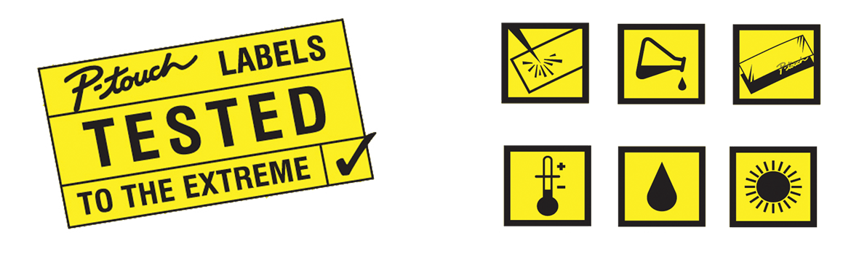 Ikony odolnosti štítkov TZe